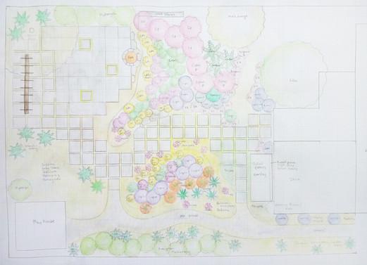 Design for Wallingford garden