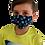 Masque de protection enfant motif kiwi
