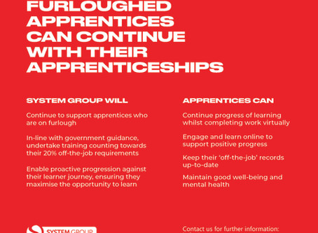 Furloughed Apprentices Can Continue With Their Apprenticeships!