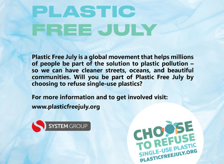 Plastic Free July!