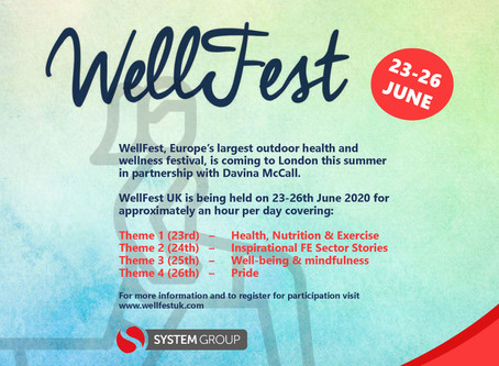 WellFest 23-26th June!