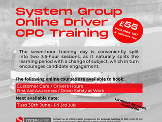 Online Driver CPC Training- book now!