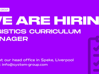 We are hiring for a Logistics Curriculum Manager