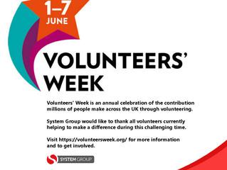 Volunteers' Week 1st-7th June!