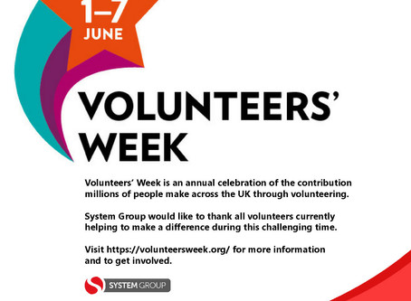 Volunteers' Week 1st-7th June!