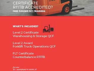 Free Funded FLT Training!