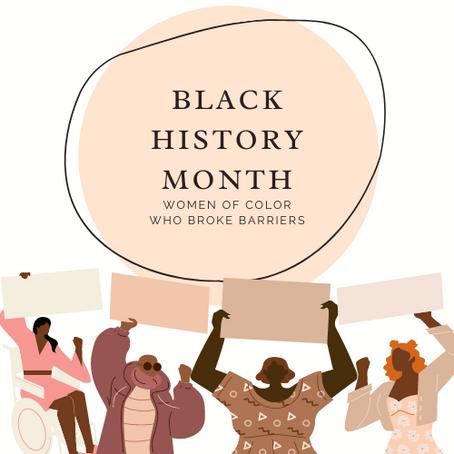 Black Women Who Broke Barriers
