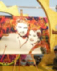POP Art, Artwork, Couple, Portrait