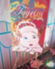 Pop art portrait, girl, artwork