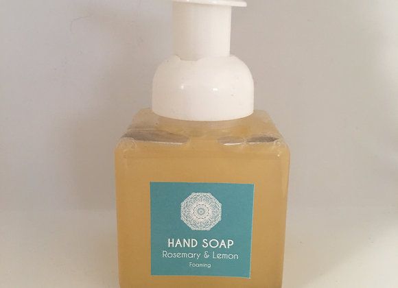 Rosemary Lemon Foaming Hand Soap