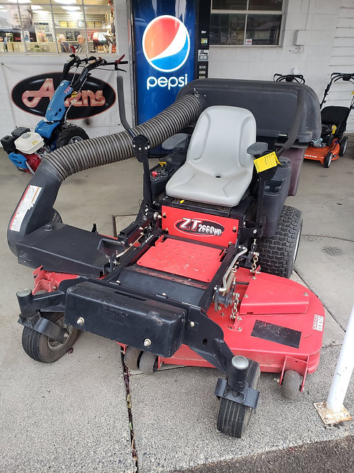 Used Gravely ZT 2660HD with Powered Bagger