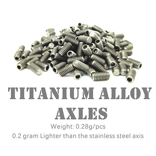 Axles | Titanium Alloy, Stainless Steel