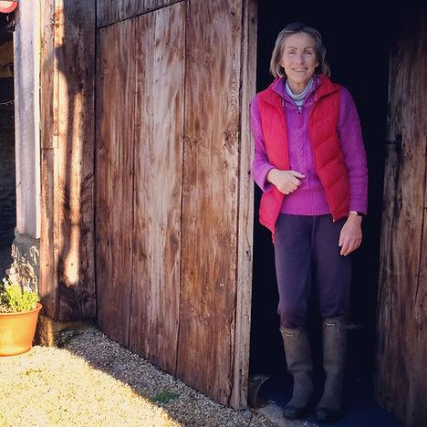 Cherry Willoughby, owner of Stockbridge Farm Barn