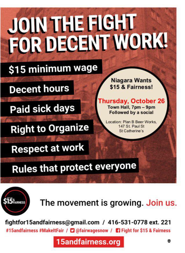 JOIN THE FIGHT FOR DECENT WORK