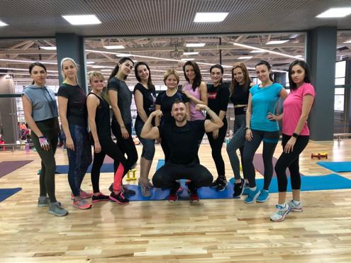 Силовая тренировка Иван Клепиков