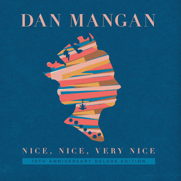 Dan Mangan Nice, Nice Very Nice 2XLP Album Cover with Ellis Demo Project
