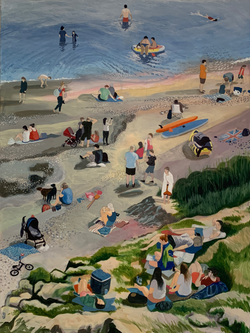 Lullworth Cove: August 2020