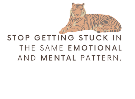 How to stop getting stuck in your emotional patterns.