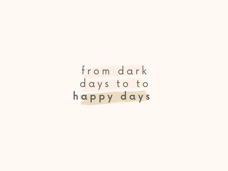 Find Comfort Amid Your Dark Days