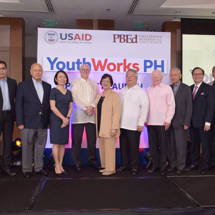 USAID and PBEd Launch YouthWorks PH Project for Filipino Youth