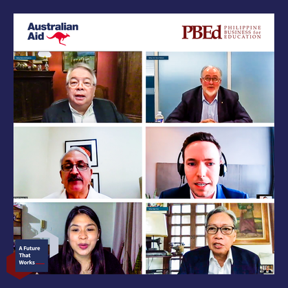 """PBEd and Australian Government partner for """"A Future That Works"""""""