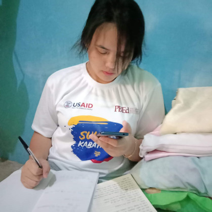Home quarantine productivity for youth made possible by USAID, PBEd project