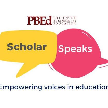 PBEd Scholar Speaks Presentations