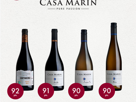 Decanter recognition to four of our wines: Highly Recommended Wines