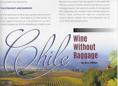 Chile: Vino sin equipaje