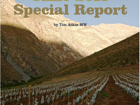 Tim Atkin´s Chile 2018 Report - Casa Marin wines all receive over 89pts!