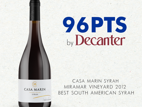 Syrah Miramar 2012: Best Syrah in South America