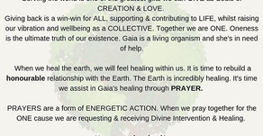 Healing Gaia Prayers