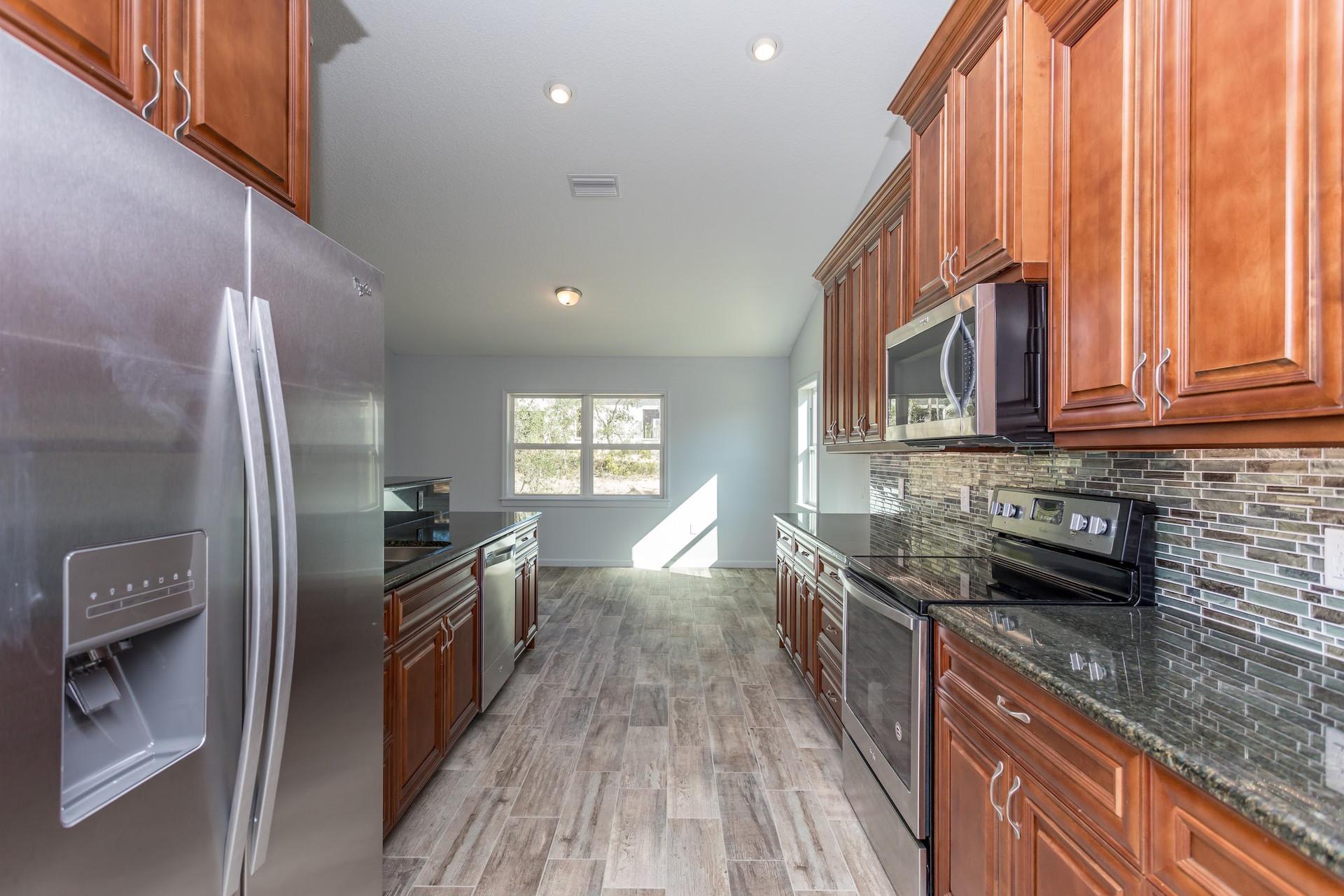 LEDGESTONE kitchen from the laundry room