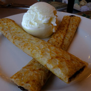 Crêpe and New Forest Ice Cream