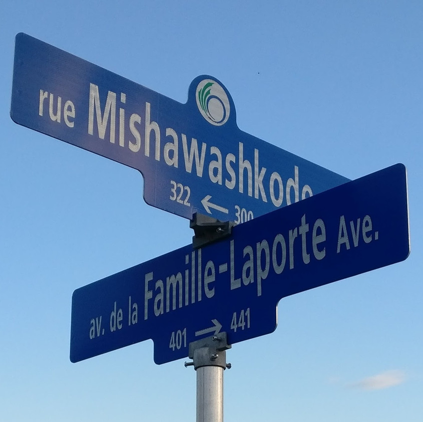 Street names in the community