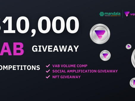 Vabble (VAB) Giveaways & Trading Competitions
