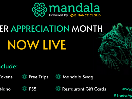 Mandala Exchange Trader Appreciation Month Contests, Rewards & Giveaways: Trade With Us