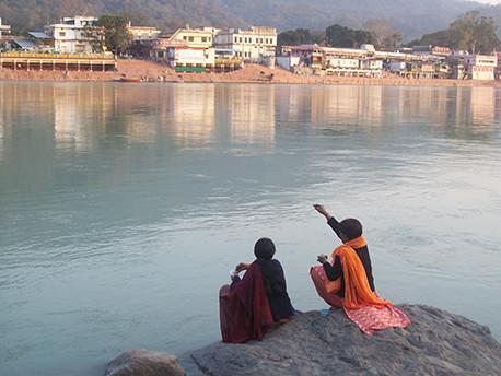 Bord du Gange