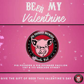 Pig Pounder Valentine's Promo for Social Media