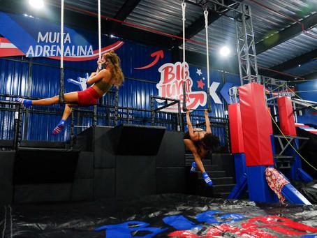 Diversão para toda a família você só encontra na Big Jump: