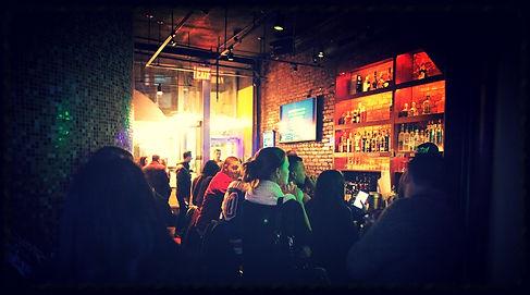Our beautiful karaoke bar!