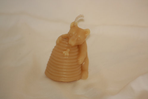 Bear & Skep Candle