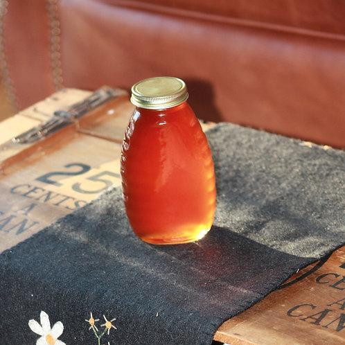 16oz Jar of Pepper Infused Honey