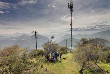 Cerro condorito Termas de Cauquenes
