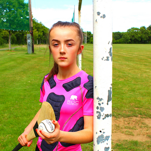ROC Kids - Hurling Protective Base Layer Pink