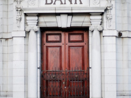 Banks would be perfect without customers