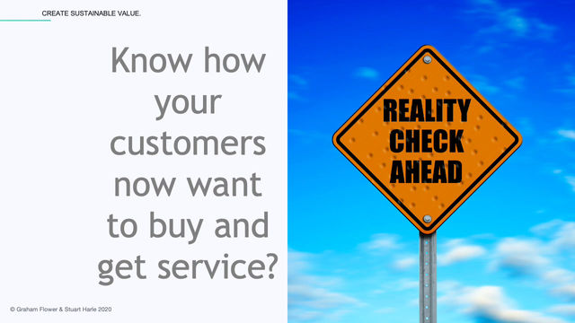 Know how your customers now want to buy and get service?