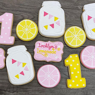 1st Birthday Lemonade Stand Cookies.jpg