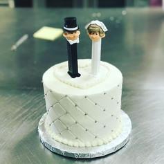 Pez Grooms Cake