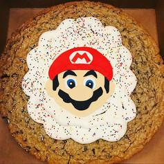 Mario Cookie Cake